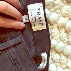 Frame Skinny Jeans Sz 25